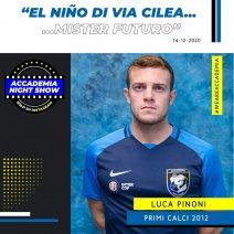 Accademia Night Show: l'ospite è Luca Pinoni