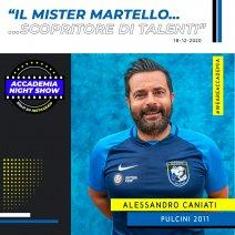 Accademia Night Show: l'ospite è Alessandro Caniati