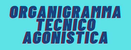 Organigramma Tecnico Agonistica