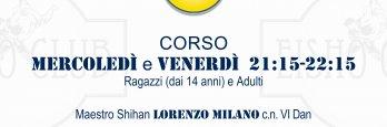 Corso JU JITSU c/o EISHO CLUB  MILANO