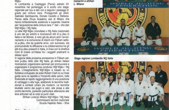 Articolo rivista SAMURAI Febbraio 2020 - pag.14