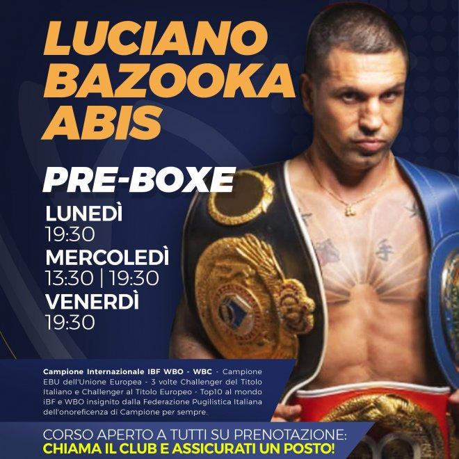 PreBoxe al Dabliu Parioli con Luciano Bazooka Abis