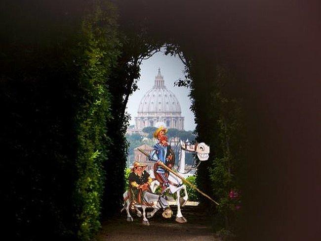 DivertArte: Don Chisciotte al Giardino degli Aranci