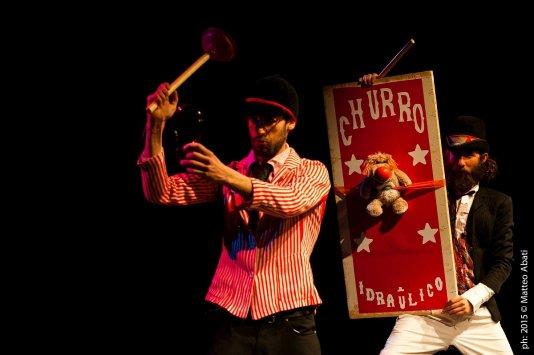 Trio Churro, teatro per bambini all'aperto