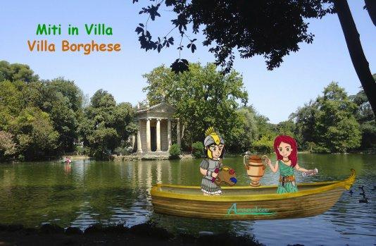 Miti in Villa - Villa Borghese
