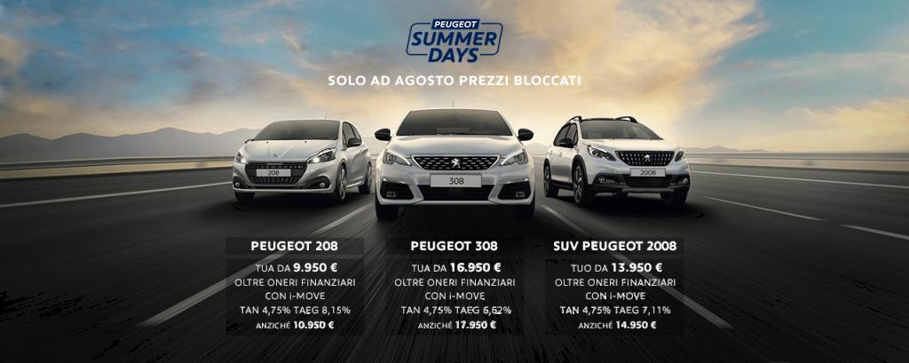 Jesi - Scopri le promozioni Peugeot di agosto!   Auto Jesi   Jesi, Via Gallodoro, 63   Tel. 0731211923 - 3933314128