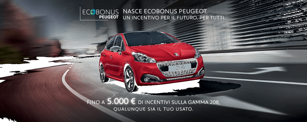 Jesi - Ecobonus Peugeot Gamma 208 | Auto Jesi | Jesi, Via Gallodoro, 63 | Tel. 0731211923 - 3933314128 | Offerta valida fino al 31/10/18