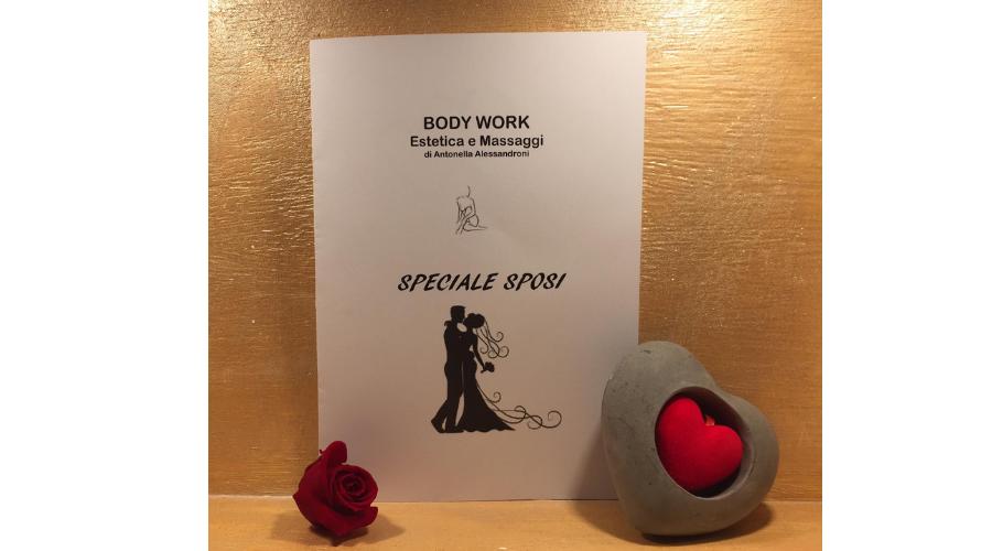 Jesi - Pacchetto Sposi | Body Work | Jesi, via del Cascamificio 5 | Tel. 333 337 0319