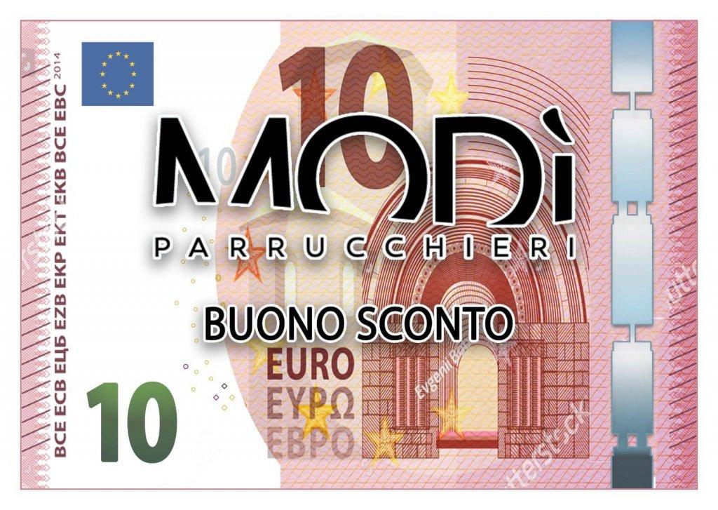 Jesi - Buono Sconto di 10 Euro | Modì Parrucchieri Jesi | Jesi, Via Piccitù, 12/A | Tel. 0731 4235 | Valido fino al 31/05/19