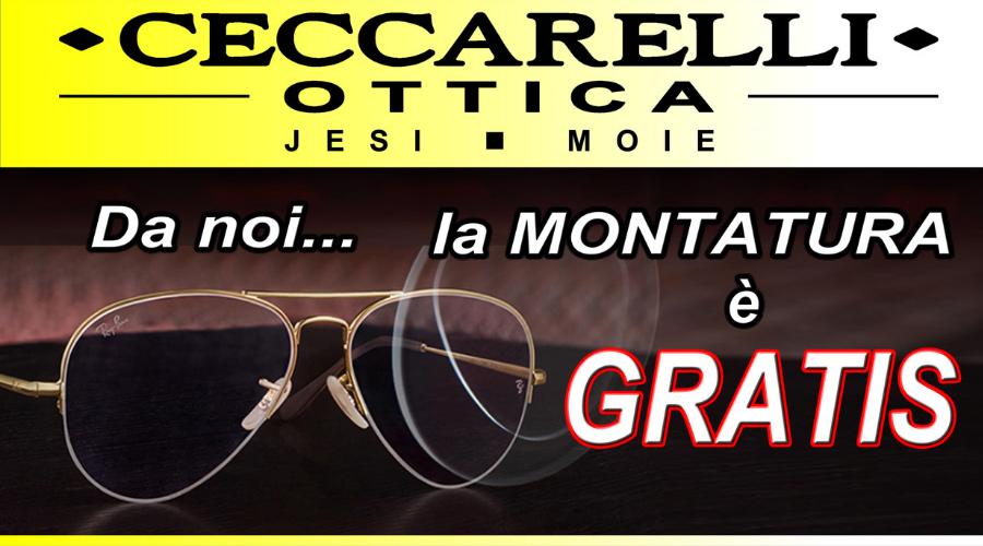 Jesi - Montatura Occhiali Gratis | Ceccarelli Ottica | Jesi, Via XXIV Maggio, 36 / Moie, Via Risorgimento, 117