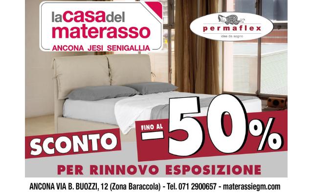 Jesi - Sconti per Rinnovo Esposizione | La Casa Del Materasso - EGM | Jesi, via Roma, 151 | Tel 0731 214460 | Offerta valida fino al 31/05/19