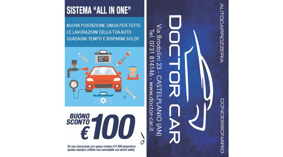 Castelplanio - Buono Sconto 100 euro Sistema All in One | Doctor Car | Castelplanio, Via Brodolini, 23 | Tel. 0731814146 | Offerta valida fino al 10/08/19