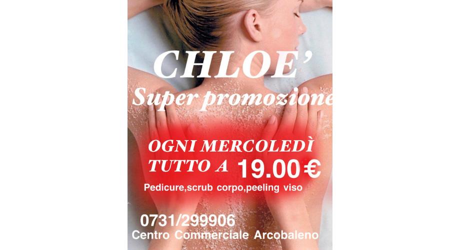 Jesi - Mercoledì tutto a 19 euro | Chloé Tattoo Estetica Parrucchieria | Jesi, Piazzale Ciabotti 8 | Tel. 3939994393 | Offerta valida fino al 10/08/19