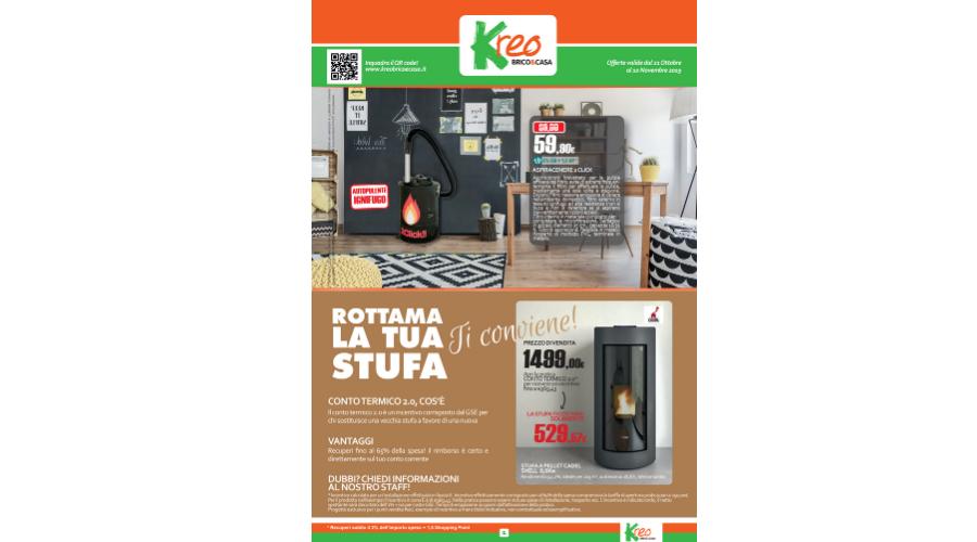 Jesi - Volantino Offerte dal 21 Ottobre al 10 Novembre | Kreo Brico&Casa | Jesi, V.le Don Minzoni, 20/b | Tel. 0731207599