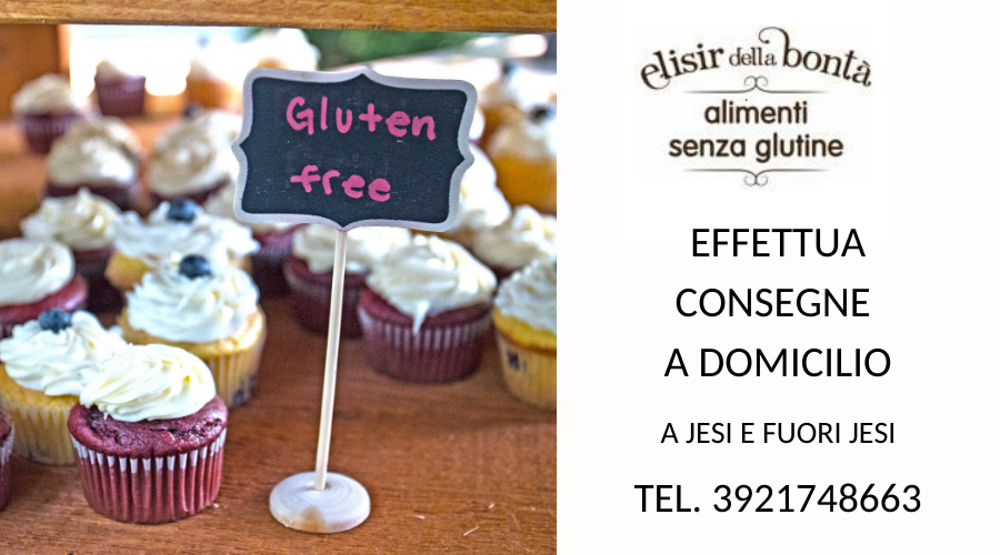 Jesi - Spesa Senza Glutine a Domicilio   Elisir della Bontà   Jesi, Via Belardinelli 1ter   Tel. 392 174 8663