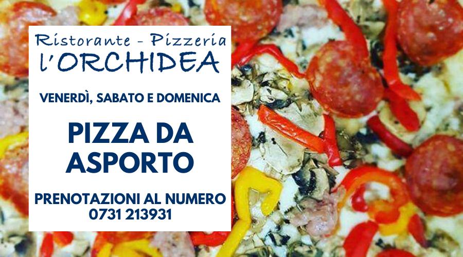Jesi - Pizza Da Asporto   L'Orchidea   Jesi, Via Guerri, 10   Tel. 0731 213931