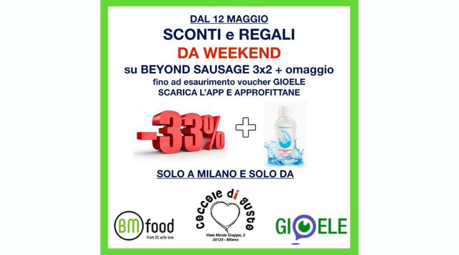 Milano - Beyond Sausage 3x2 + Omaggio | Coccole di Gusto | Milano, Viale Monte Grappa 2 | Tel. 3348855667