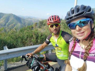 Giuliana e Vincenzo, il giro di Sicilia, con amore