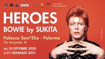 Mostra di David Bowie a Palermo: la grande fotografia a Palazzo Sant'Elia