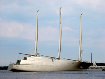 Lo yacht a vela più grande del mondo fa tappa in Sicilia