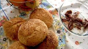 Muffuletta Siciliana ricetta della pagnotta della tradizione