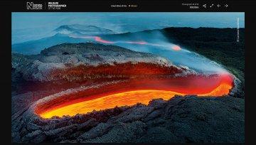 Una foto dell'Etna vince il premio di fotografia più prestigioso al mondo