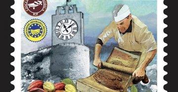 Da gustare e ora collezionare: il cioccolato di Modica finisce sul primo francobollo con QR code