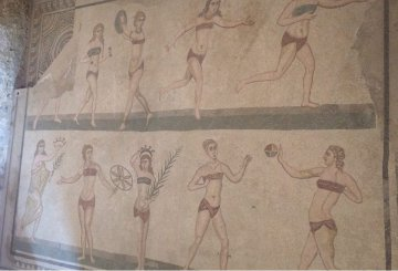 Il primo bikini della storia si nasconde tra i mosaici di Piazza Armerina