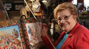 L'arte di dipingere i carretti di Nerina Chiarenza.
