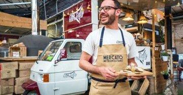 Metti un siciliano, un'apecar e una cucina: la friggitoria ambulante di Girolamo a Londra