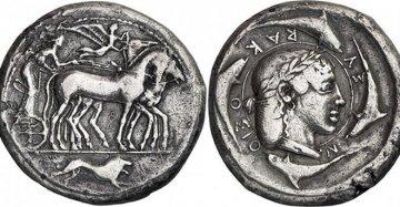 È in Sicilia una delle monete più belle (e rare) della storia: il Demareteion di Siracusa