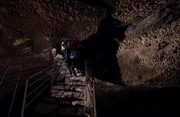 Grotta di Petralia, un segreto di lava al di sotto di Catania