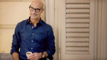 """Searching for Italy"": la CNN porta la star di Hollywood Stanley Tucci in Sicilia"