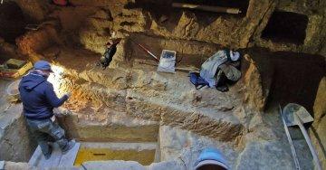 Marsala regala un tesoro: scoperta un'antica necropoli con camere inviolate