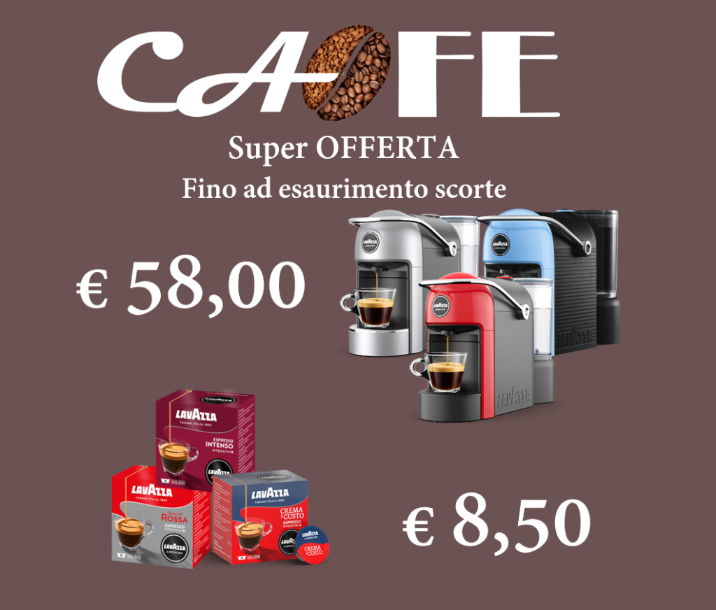 Super OFFERTA Macchine LAVAZZA JOLIE - Cafegbitalia