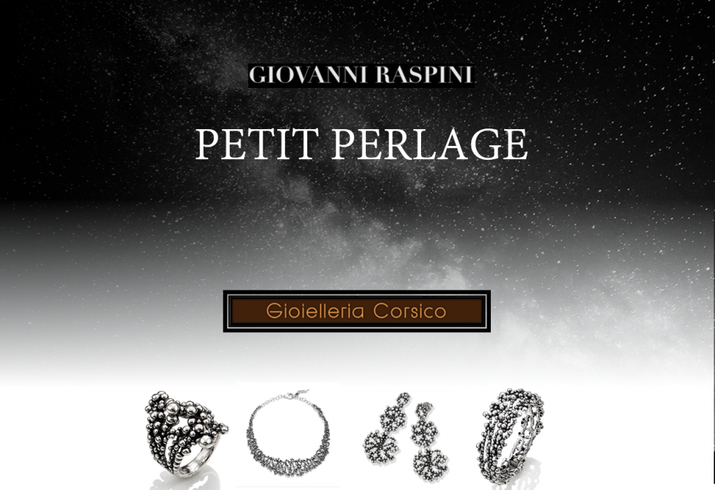 Splendi d'argento con la collezione Perlage di Giovanni Raspini!