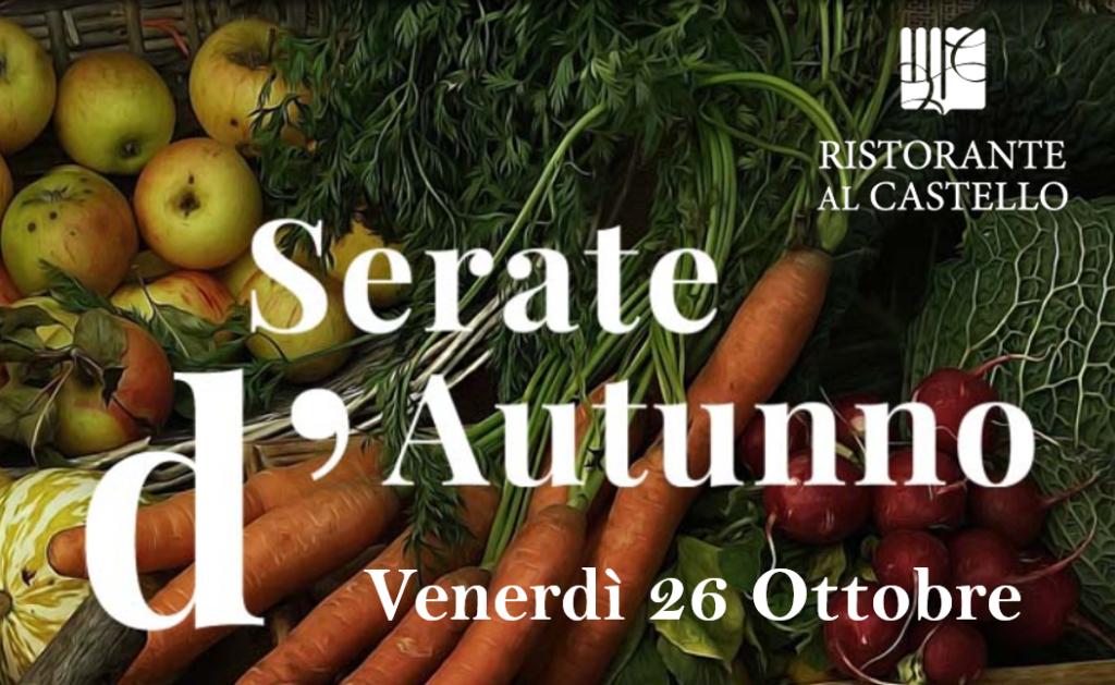 Degustazione LA ZUCCA, Serate D'autunno 2018 - Venerdì 26/10