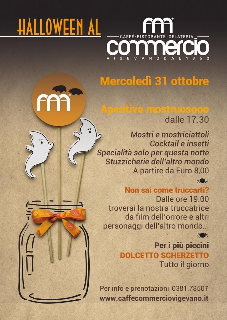 Halloween al Caffè Commercio Vigevano