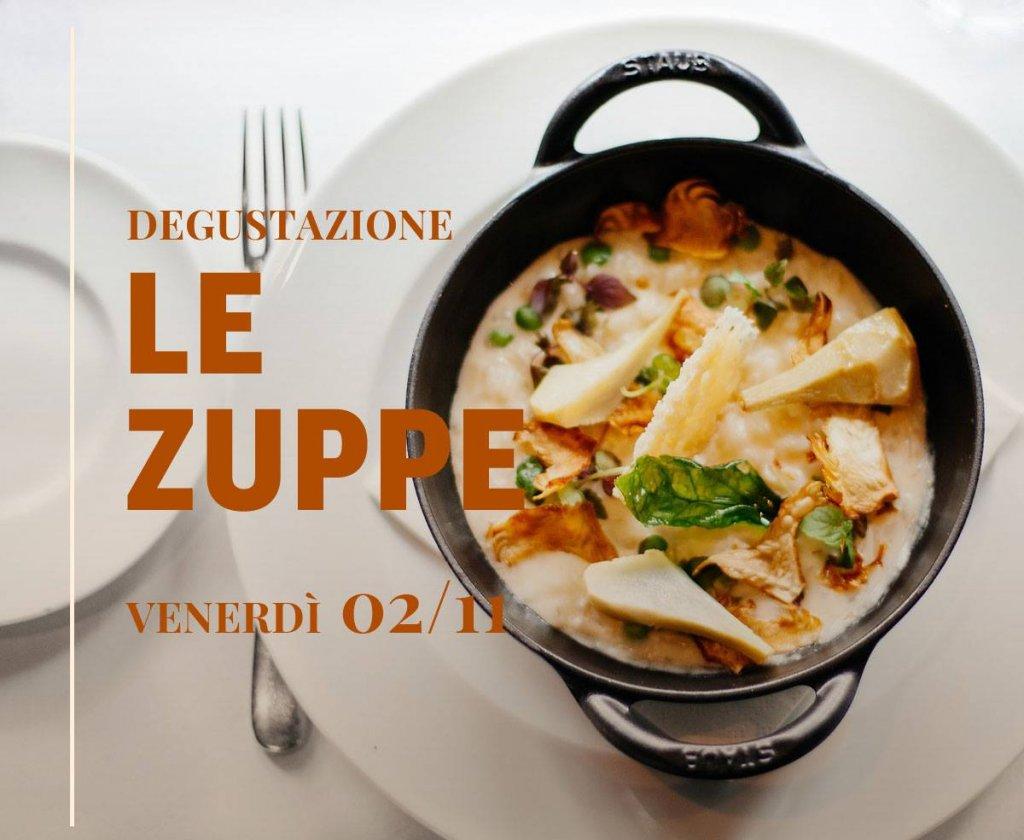 Degustazione LE ZUPPE, Ristorante Al Castello - Venerdì 2/11