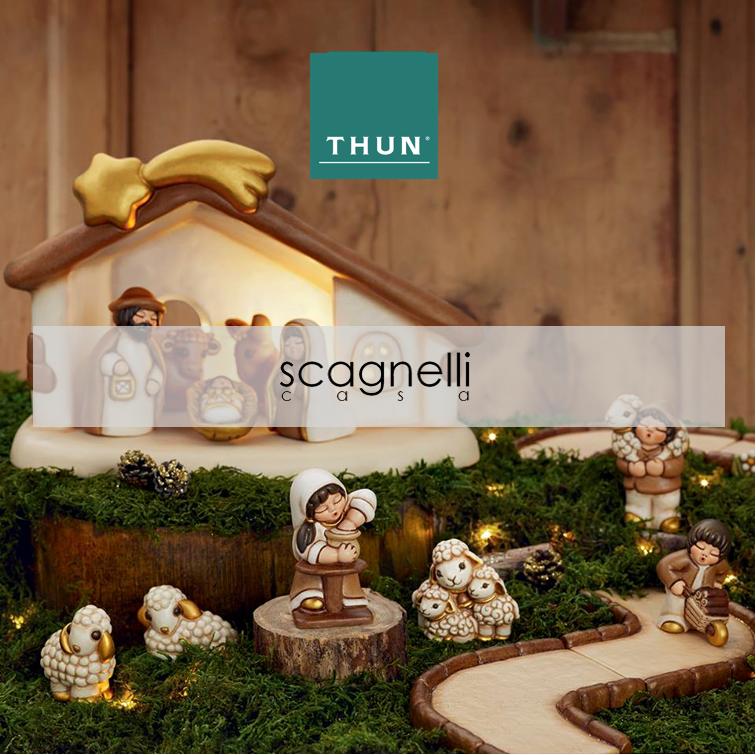 Scagnelli Casa presenta il Presepe Classico THUN ❤️⭐