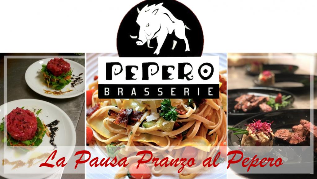 La Pausa Pranzo al Pepero! Menù a scelta da  € 8,00, € 10,00, € 12,00!