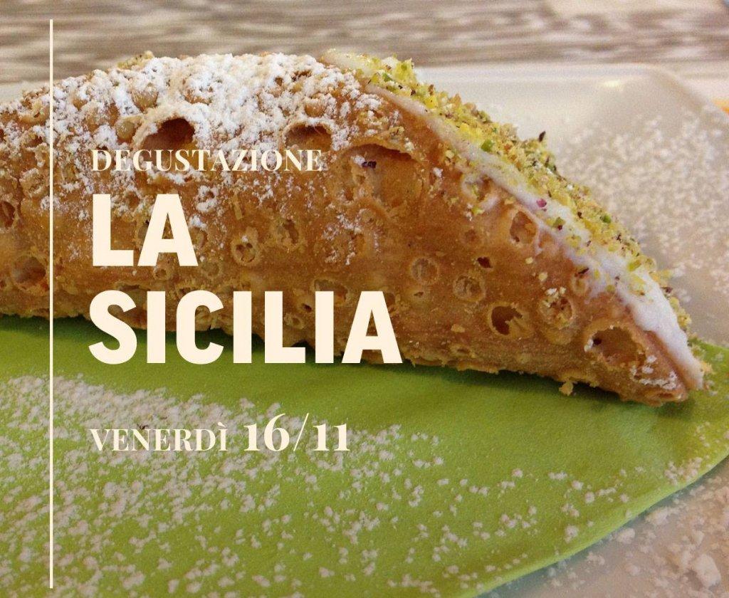 Degustazione LA SICILIA, Ristorante Al Castello - Venerdì 16/11