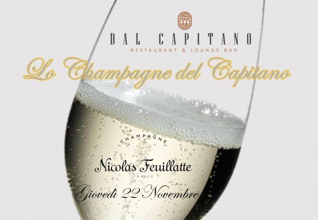 Lo Champagne del Capitano - Giovedì 22 Novembre