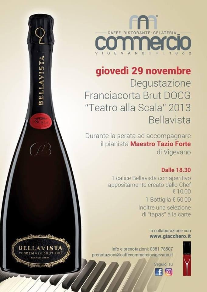 """Degustazione Fanciacorta Brut DOCG """"Teatro alla Scala"""" 2013 – Bellavista"""