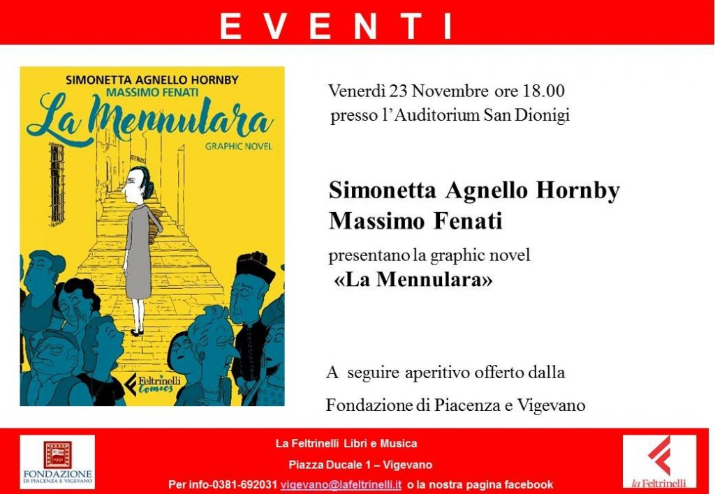 Simonetta Agnello Hornby e Massimo Fenati presentano