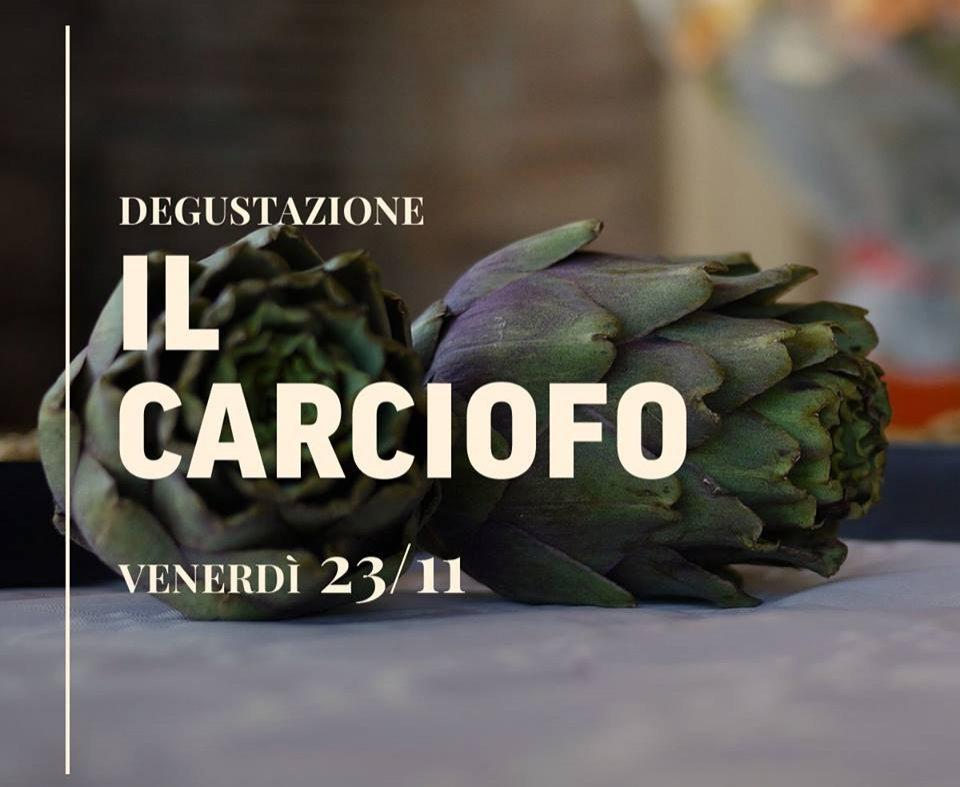 Degustazione IL CARCIOFO, Ristorante Al Castello - Venerdì 23/11