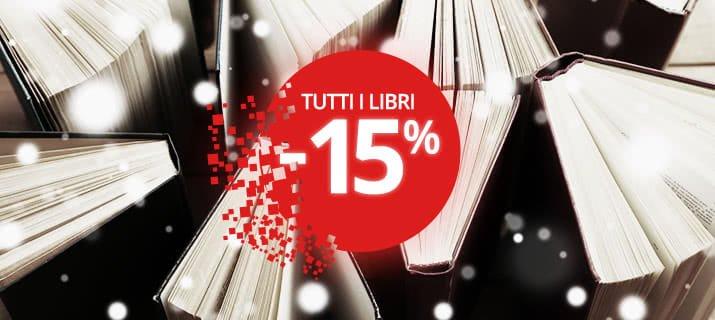 Black Week Feltrinelli! Tutti i libri presenti in negozio al 15% di sconto!