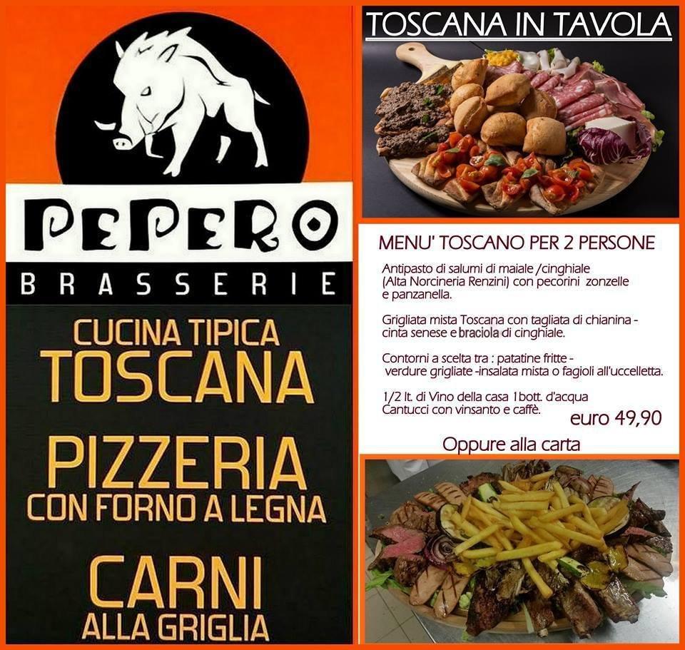 La Toscana in Tavola al Pepero! Scopri il menù Toscano per 2 persone