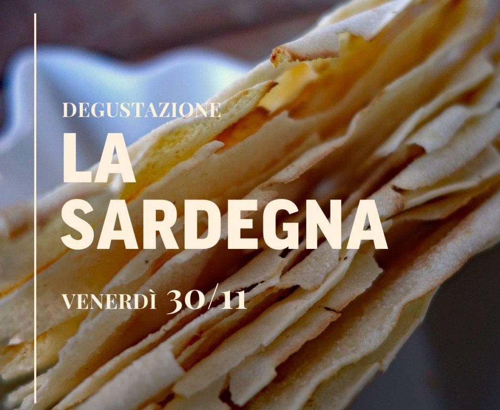 Degustazione LA SARDEGNA, Ristorante Al Castello - Venerdì 30/11
