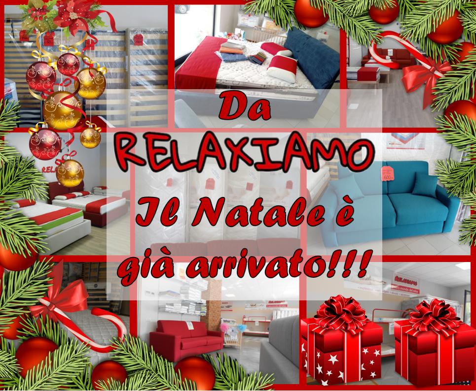 Da Relaxiamo il Natale è già arrivato! Scopri le promo su letti, materassi e molto altro!